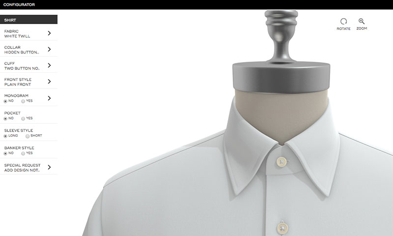 Michael Andrews Custom Shirts Online