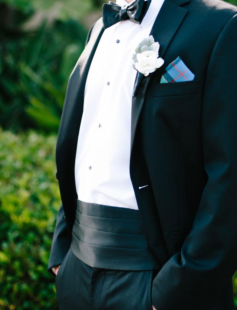 Custom Formalwear Wedding Cummerbund
