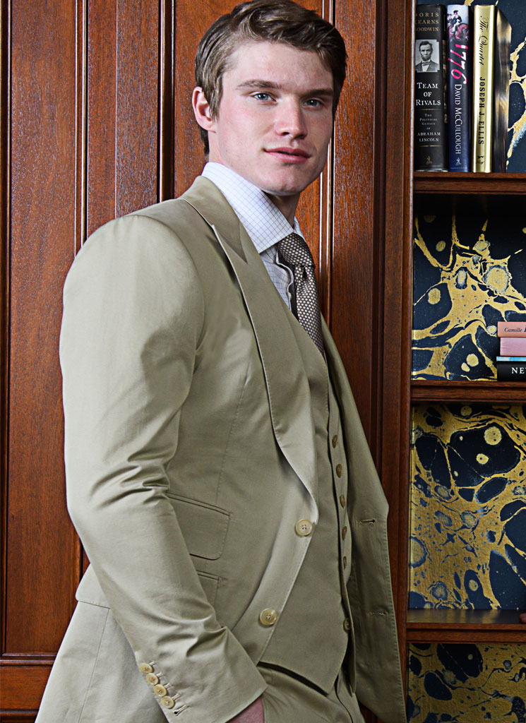 Michael Andrews Cotton Suit