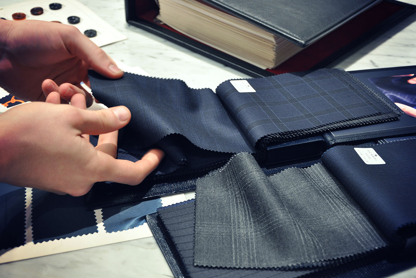 Michael Andrews Four C's of Bespoke Cloth