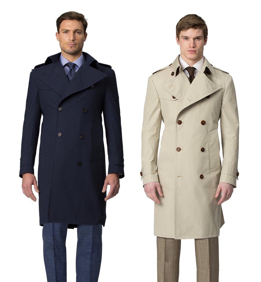 Bespoke Trench Coats Available Online