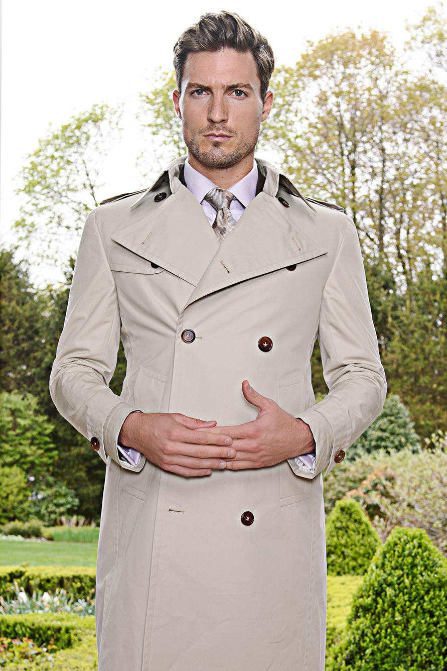 Custom Trench Coat from Michael Andrews Bespoke