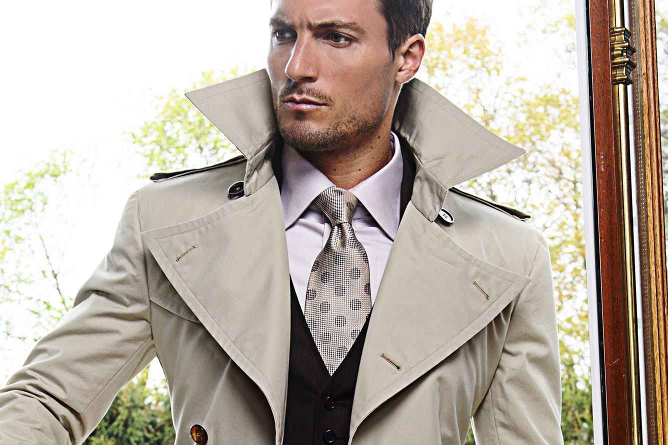 Michael Andrews Bespoke Trench Coat