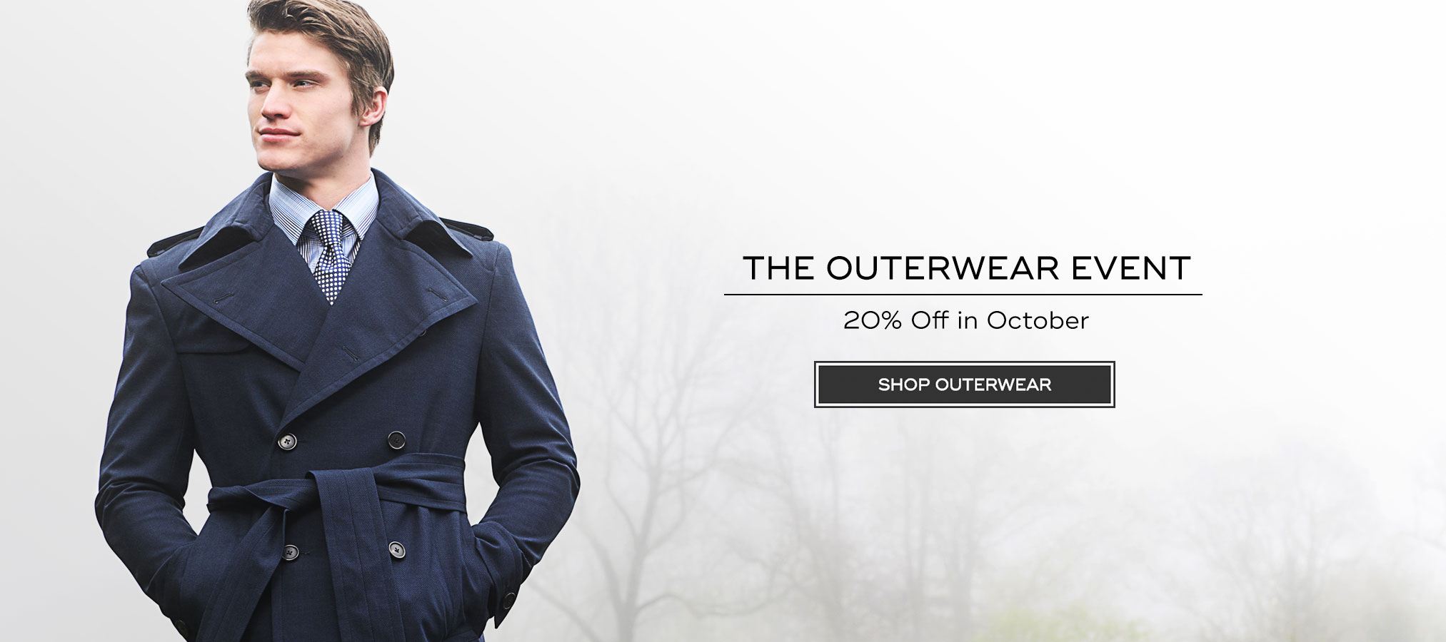 20% Off Bespoke Outerwear in October