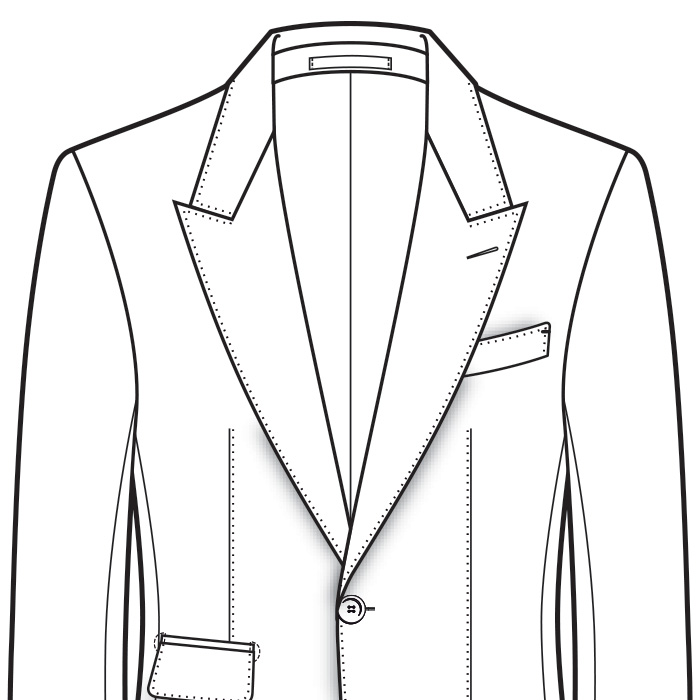 Natural Men's Suit Shoulder Styles