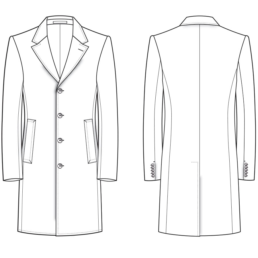 Bespoke Overcoat Dress Coat Styles