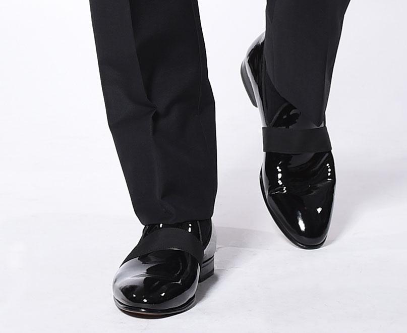 Michael Andrews Bespoke Tuxedo Accessories Shoes
