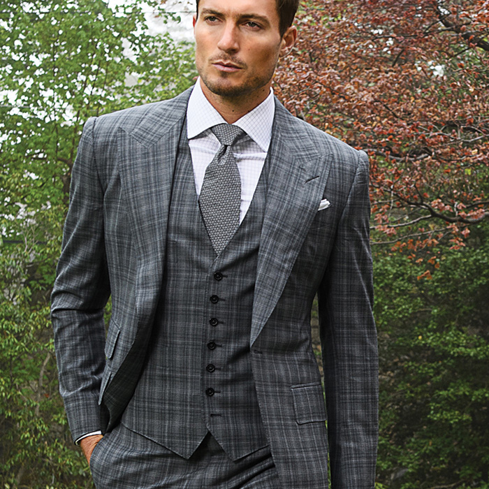 Men's Suit Roped Shoulder Styles