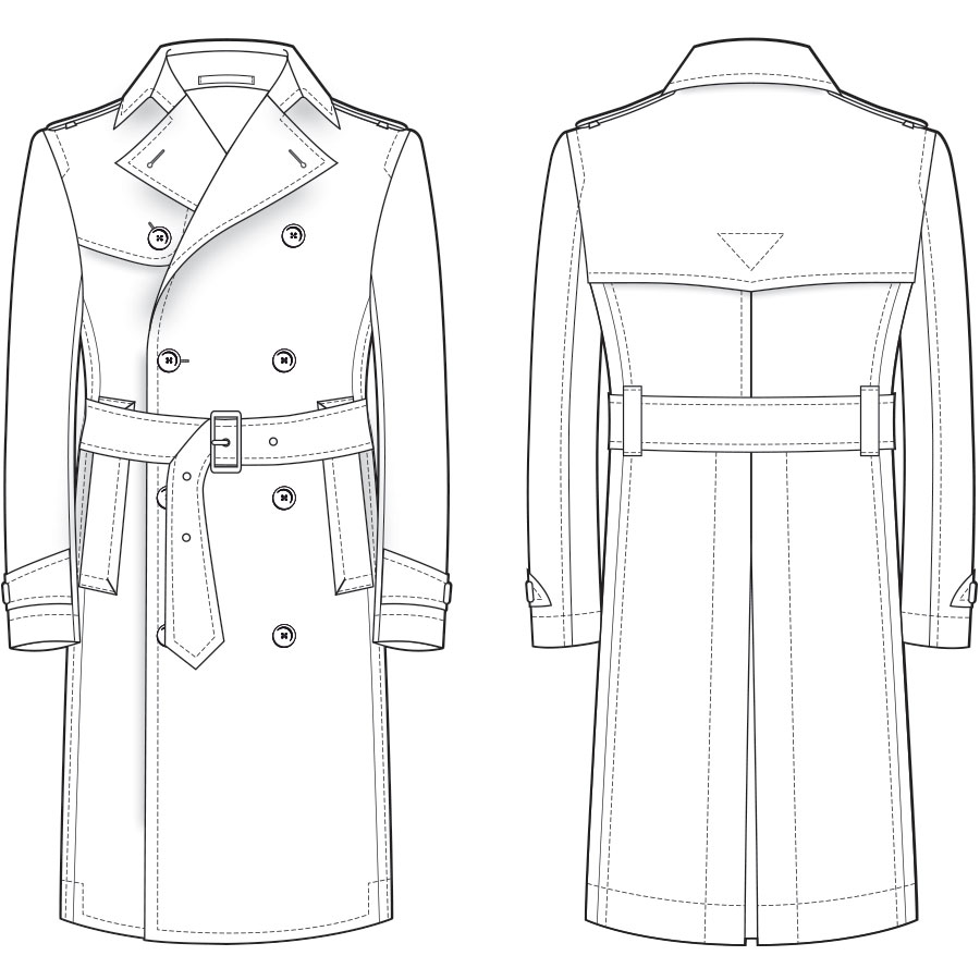 Bespoke Trench Coat Dress Coat Styles