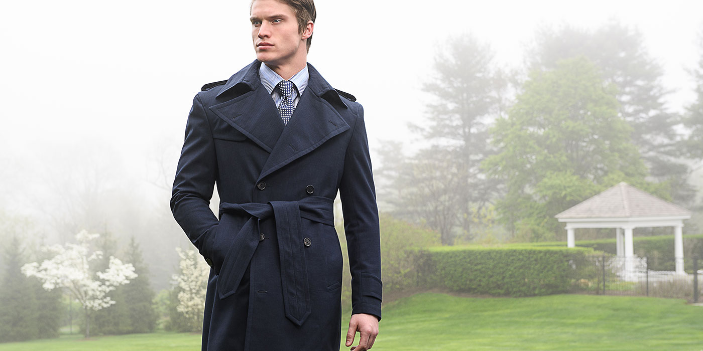 Bespoke Overcoats from Michael Andrews
