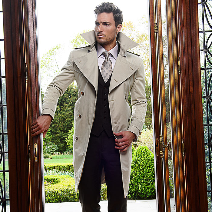 Bespoke Trench Coats from Michael Andrews