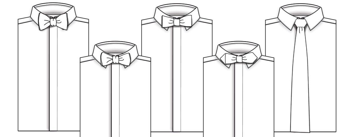 Tuxedo Accessories Bowtie Styles