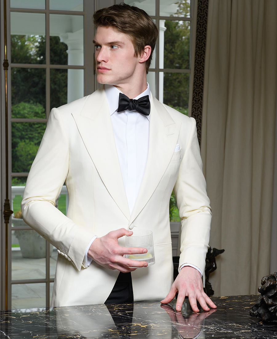 Dressing for the Occasion - Bespoke White Dinner Jacket
