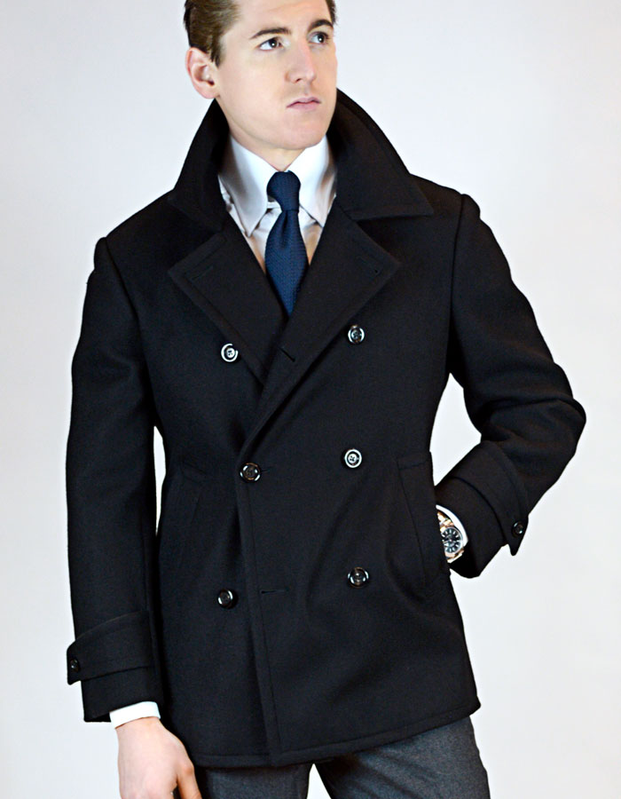 Formal Custom Navy Peacoat