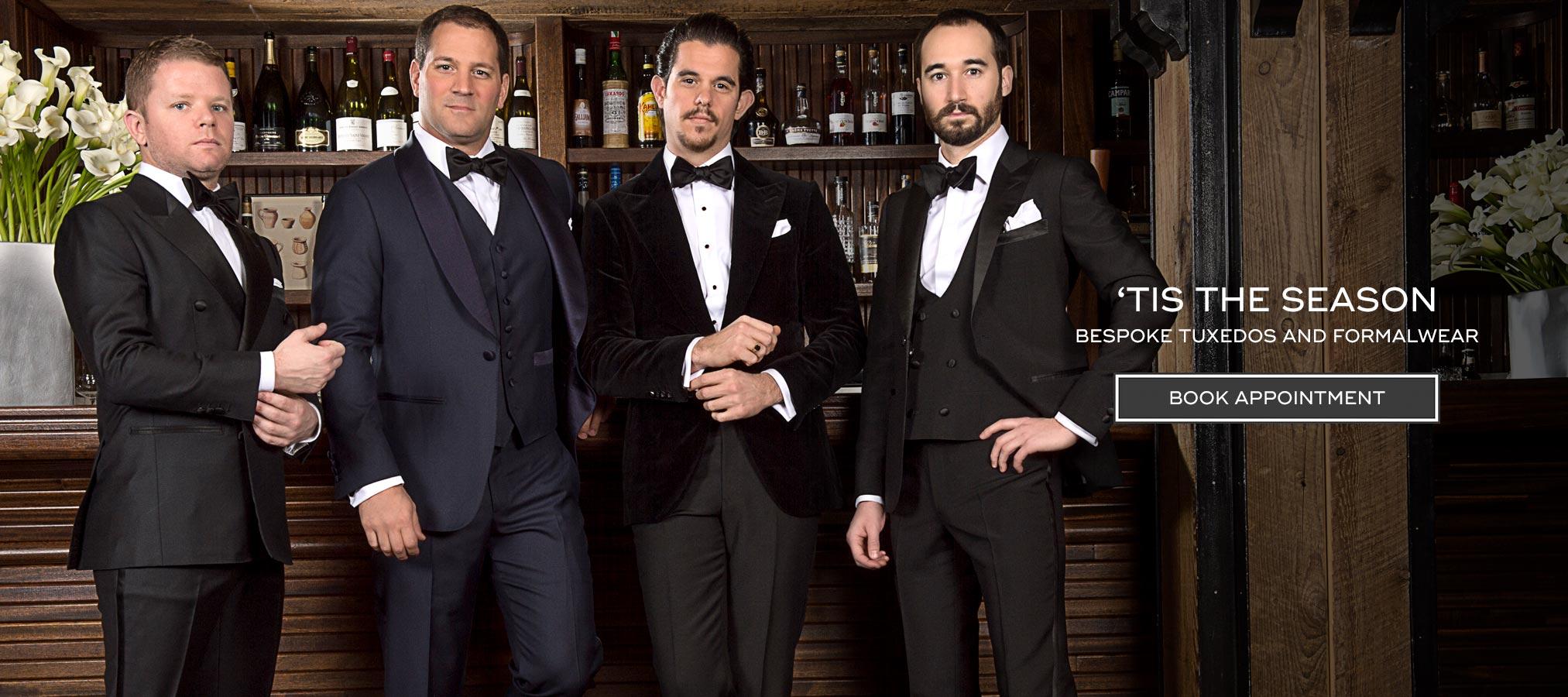 Bespoke Tuxedos and Formalwear