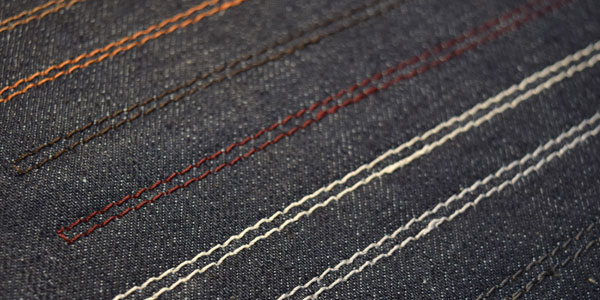 Bespoke Jeans Custom Thread Color