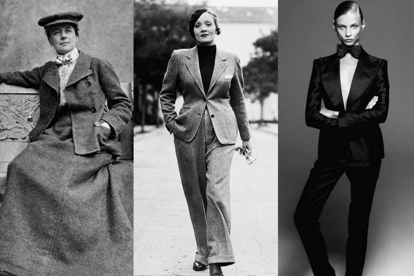 A Brief History Of Women S Suits
