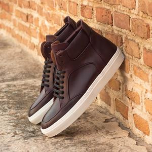 Brown Calf High Top
