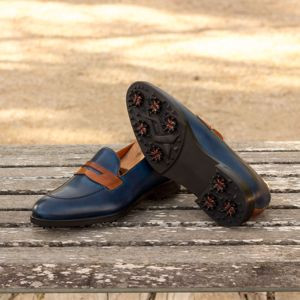 Blue Loafer w Golf Sole
