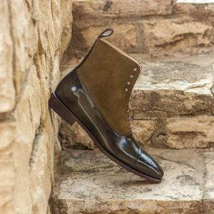Black & Brown Two-Tone Balmoral