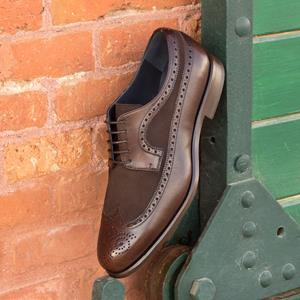 Brown Two-Tone Wingtip