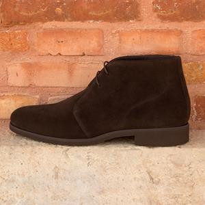 Dark Brown Suede Chukka