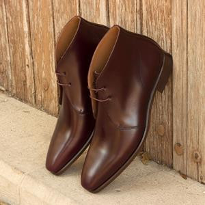 Dark Brown Calf Chukka