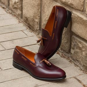 Burgundy Calf Loafer