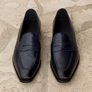 Black Calf Loafer