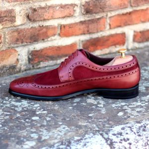 Red Two-Tone Wingtip