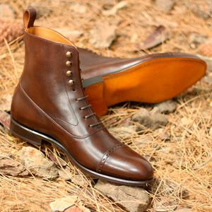Med Brown Burnished Balmoral