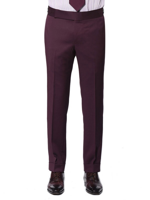 Bordeaux Twill Signature Bespoke Trouser