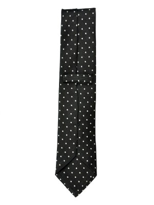 Black Dot Silk Tie