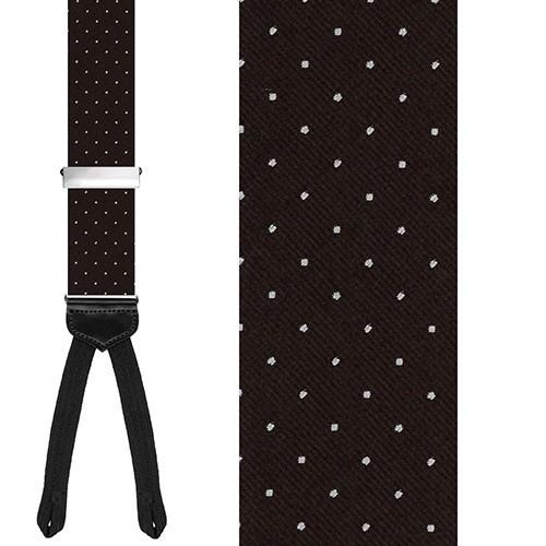 Black Dots Suspender