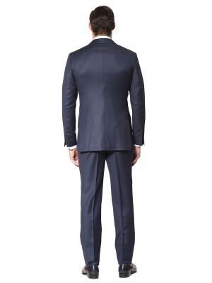 Marine Birdseye Classic Bespoke Suit