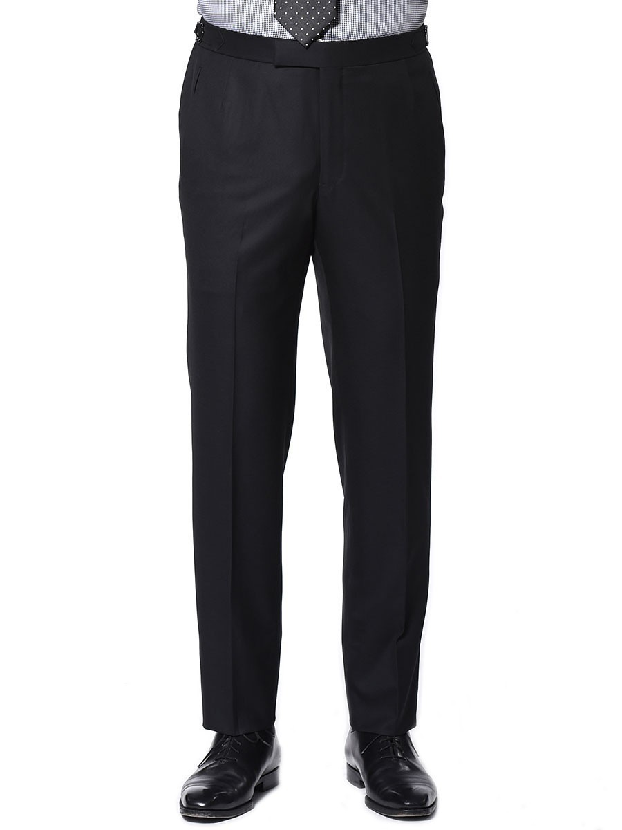 Black Twill Signature Bespoke Trouser