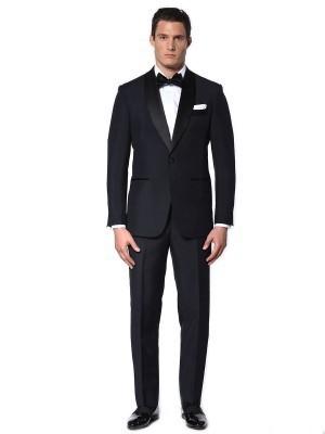 Midnight Mohair Classic Bespoke Tuxedo