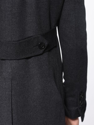 Charcoal Signature DB Bespoke Overcoat