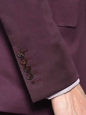 Bordeaux Twill Signature Bespoke Suit
