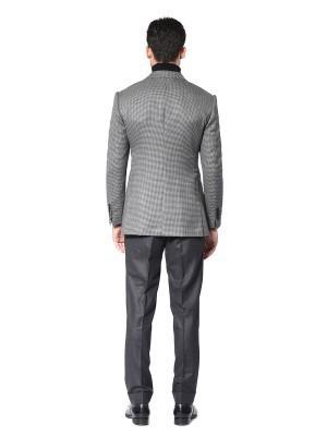 Grey Houndstooth Signature Bespoke Sport Coat