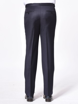 Navy Twill Classic Bespoke Trouser