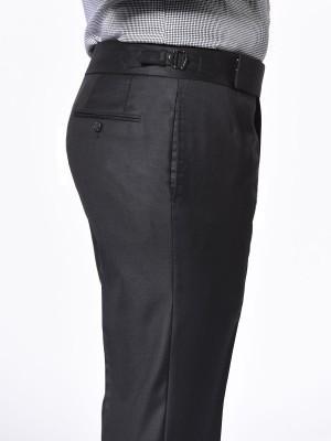 Black Twill Signature Bespoke Trouser