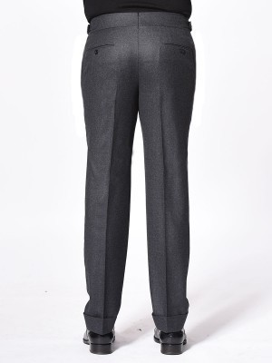Charcoal Flannel Signature Bespoke Trouser