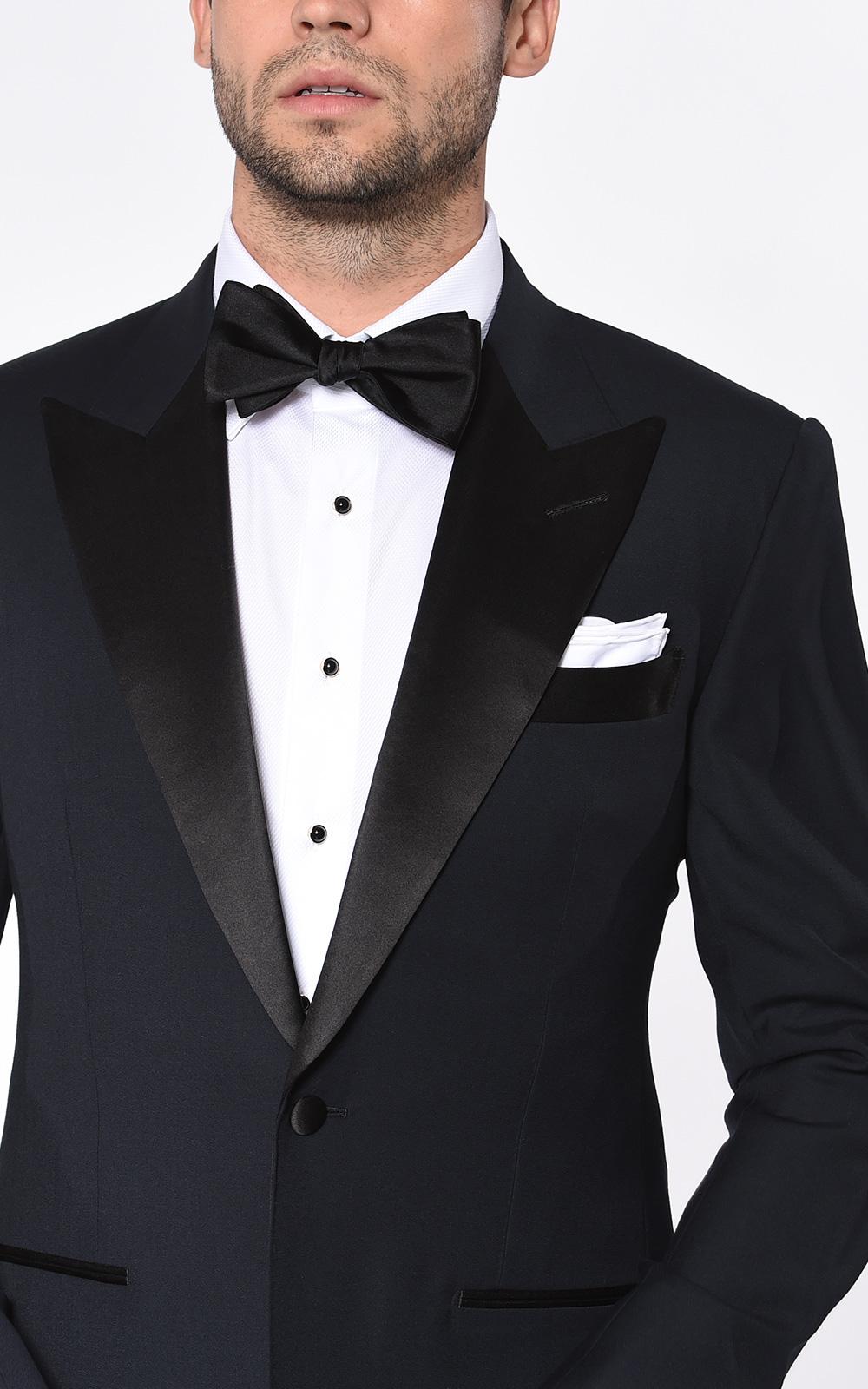 Midnight Classic Satin Bespoke Tuxedo