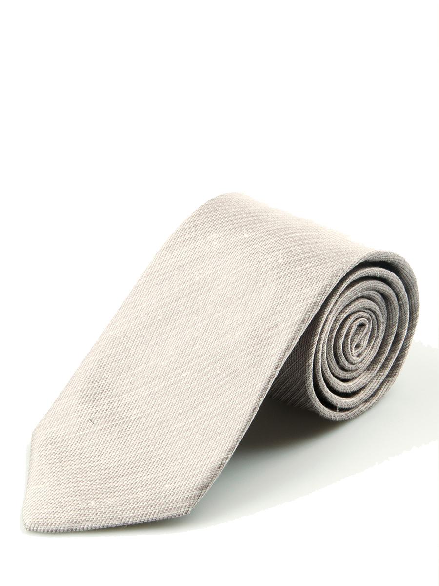 Pale Orchid Shantung Slub Solid Necktie