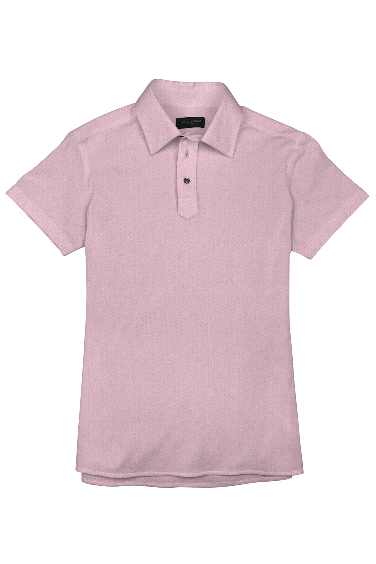 Dark Millennial Pink Pique Short Sleeve Polo Shirt