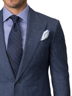 Denim Chambray Bespoke Suit