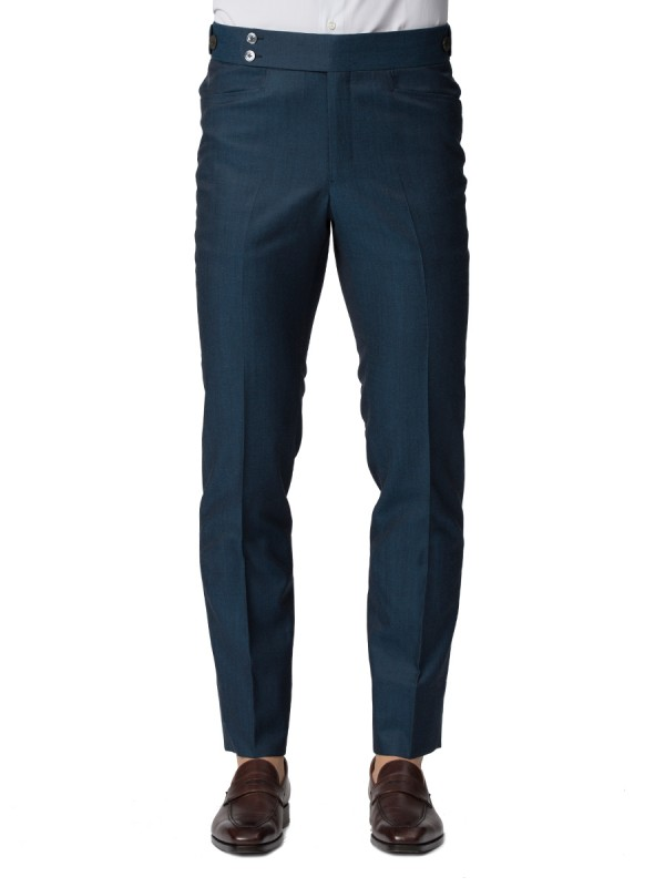 PETROL BLUE TROUSER