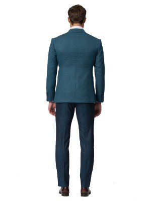 Emerald Hopsack Bespoke Sport Coat