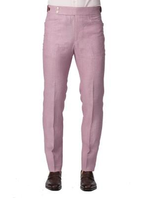 Pale Pink Linen Bespoke Trouser